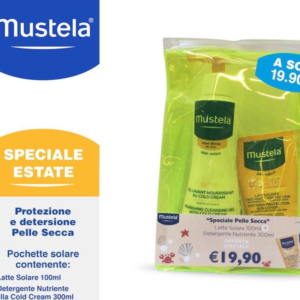 MUSTELA LATTE SOLARE SPF50+GEL LAVANTE NUTRIENTE