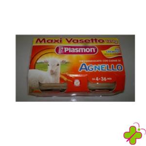 PLASMON OMOGENEIZZATO AGNELLO 120X2