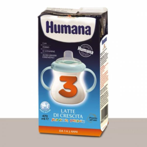 HUMANA 3 LATTE CRESCITA LIQUIDO 470 ML
