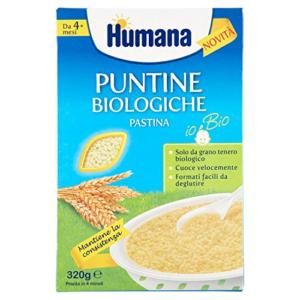 HUMANA PUNTINE BIOLOGICHE PASTINA 320G