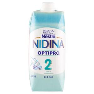 NIDINA 2 LATTE LIQUIDO 500ML