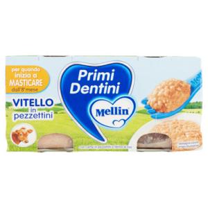 MELLIN OMOGENEIZZATO PRIMI DENTINI VITELLO 2X80