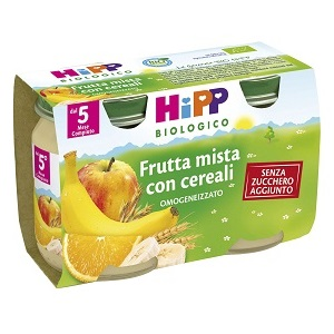 HIPP Merenda frutta mista con cereali
