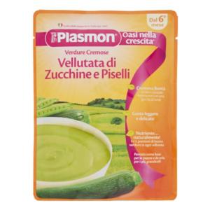 Plasmon Bontà Della Mamma Vellutata Zucchine E Piselli 180g