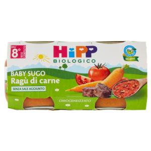 HIPP OMOGENEIZZATO BABY SUGO RAGU' DI CARNE