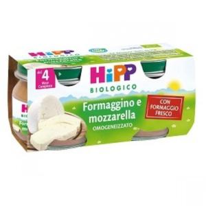 HIPP OMOGENEIZZATO FORMAGGINO E MOZZARELLA