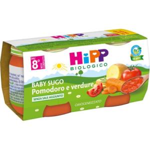 HIPP BABY SUGO POMODORO E VERDURE