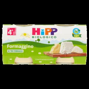 HIPP OMOGENEIZZATO FORMAGGINO AI TRE FORMAGGI