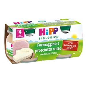 HIPP OMOGENEIZZATO FORMAGGINO E PROSCIUTTO