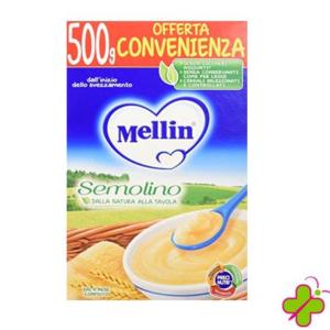 MELLIN CREMA AI CEREALI SEMOLINO FORMATO CONVENIENZA 500G