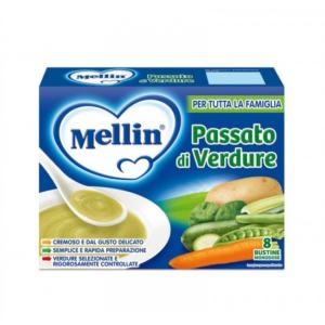 Mellin - Passato di Verdure - 8x13g