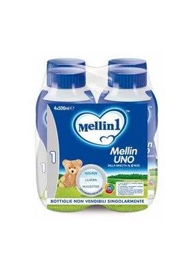 MELLIN 1 LATTE LIQUIDO 4X500ML