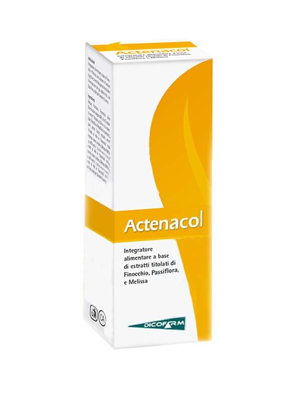 ACTENACOL SCIROPPO FLACONE 60ML