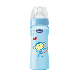 CHICCO BIBERON IN POLIPROPILENE BOY 330 ML FAST SILICONE