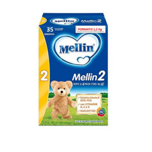 Mellin Latte 2 polvere - 1,2kg