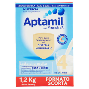 Aptamil 4 latte in polvere 1200Gr