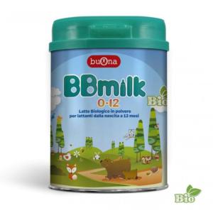 BBmilk 0-12 latte in polvere da 750gr
