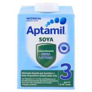 APTAMIL 3 LATTE CRESCITA SOYA 500ML