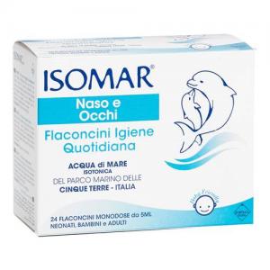 Isomar Naso Flaconcini Igiene Quotidiana 24 Pezzi Da 5ml