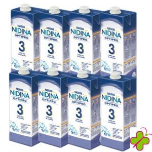 NIDINA 3 LIQUIDO CONFEZIONE 8X 1Litro