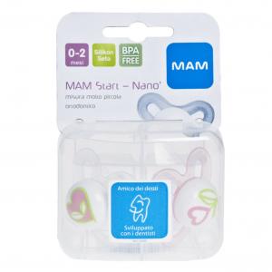 MAM SUCCHIETTO START NANO 2-6 M +