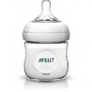 AVENT BIBERON NATURAL 125 ML TRASPARENTE