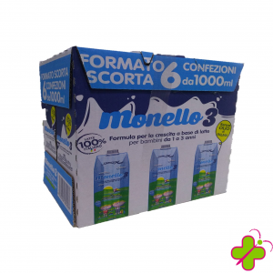 STERILFARMA MONELLO 3- 1LITRO X 6