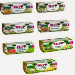 HIPP Omogeneizzato Carne 2x80 Gr