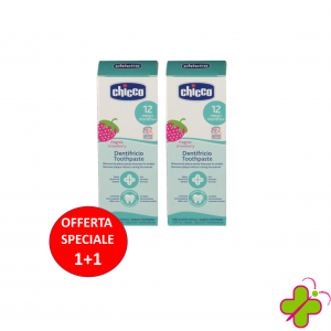 CHICCO DENTIFRICIO FRAGOLA 50ML 12M+ DOPPIO