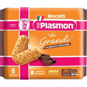 PLASMON BISCOTTO dei GRANDI CIOCCOLATO GOCCE
