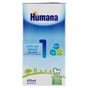 Humana 1, latte liquido 470 ml nuova confezione