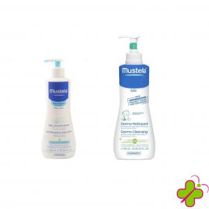 Mustela Dermo Gel Detergente Corpo e Capelli 500ml e 750ml