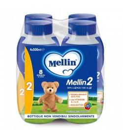 MELLIN 2 LATTE DI PROSEGUIMENTO BOTTIGLIE 4X500ML