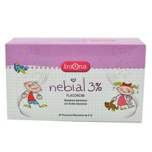 BUONA NEBIAL 3% 20 FLACONCINI 5ML