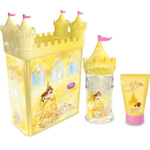 Set regalo Disney Belle 3 pezzi - Eau De Toilette, Shower Gel & Castle salvadanaio