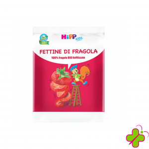 HIPP KIDS FETTINE DI FRAGOLA LIOFILIZZATE 100%