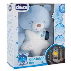 Chicco Goodnight Bear Orsetto azzurro
