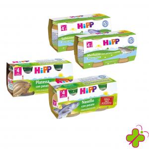 HIPP PESCE OMOGENEIZZATO 2X80Gr