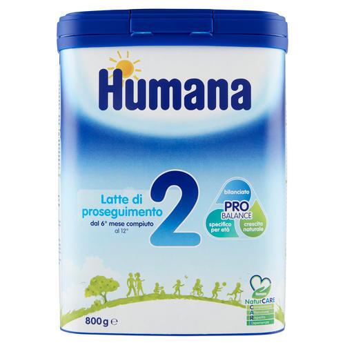 Humana 2 Latte di Proseguimento in polvere 800gr