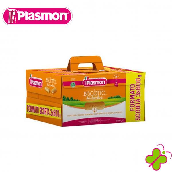 PLASMON BISCOTTO FORMATO SCORTA 3 X 600grammi