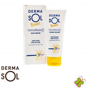 Dermasol bambini crema solare alta protezione SPF50+ 100 ml
