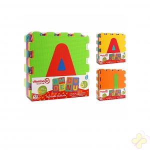 Mattonelle Puzzle Lettere, 9 Pezzi