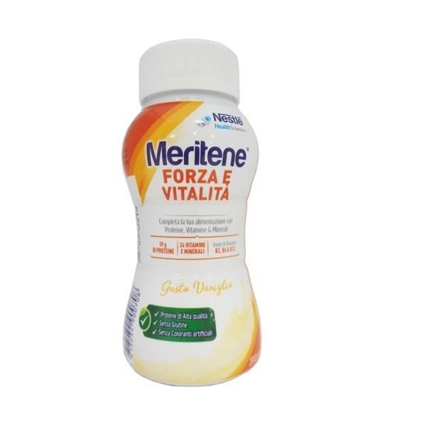 Meritene Drink gusto vaniglia + cannuccia (200 ml)