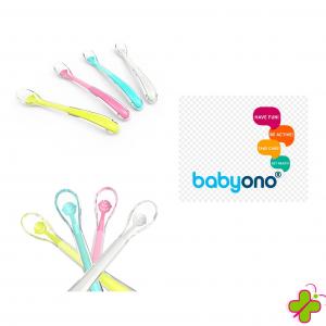 Babyono Baby's Smile Cucchiaio in Silicone Vari Colori
