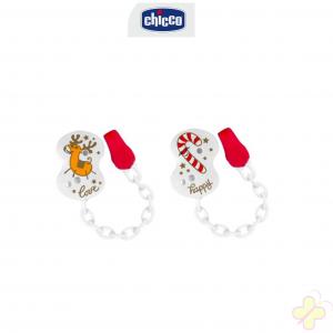 Chicco Clip Con Catenella Natale 1 Pezzo