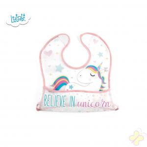 Lulabi bavetta unicorno con tasca